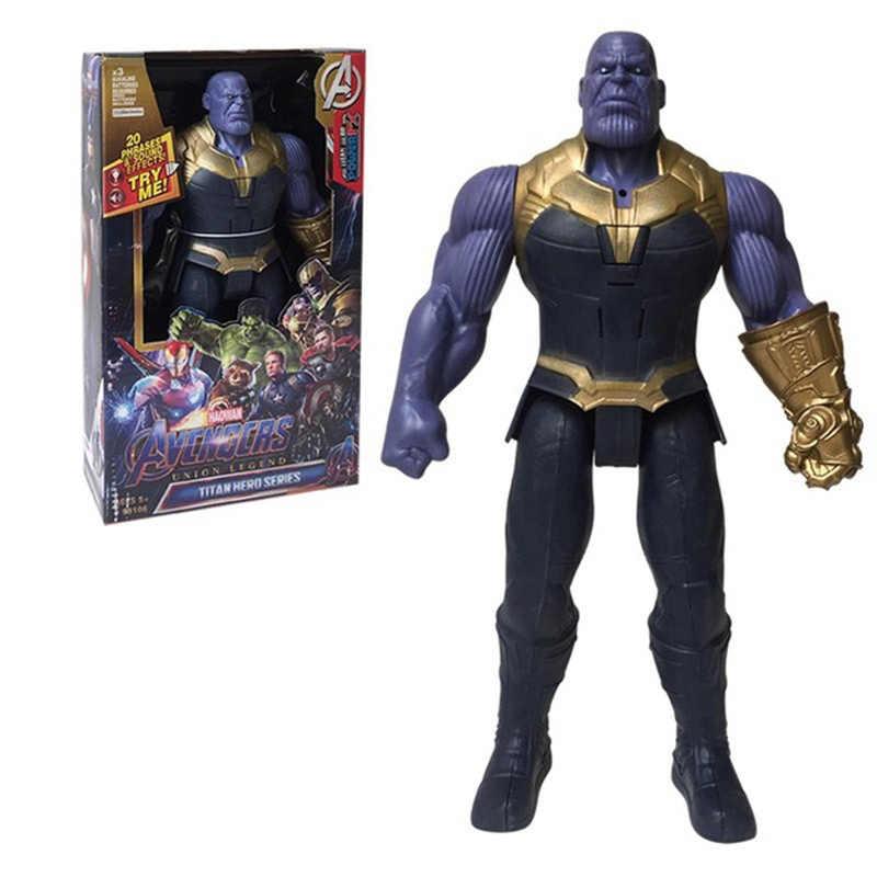 30cm מארוול נוקמי סוף המשחק תאנסו ספיידרמן האלק איש ברזל קפטן אמריקה Thor וולברין פעולה איור צעצועי בובות עבור ילד