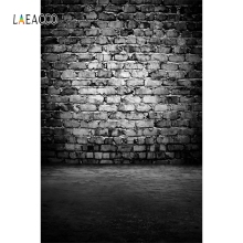 Laeacco Newborn Baby Dark Wall Brick Photo Backgrounds Vinyl Digital Customized Photography Backdrops For Photo Studio laeacco old steam train station landscape baby photo backgrounds customized digital photography backdrops for photo studio