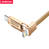 USB Type C IOS Android 3IN1 Charging Cable Type C USB Fast Charge Cable For IPhone