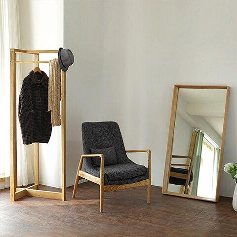 nordic creative ikea furniture hanger floor bedroom interior white oak wood hanger hanger single shot