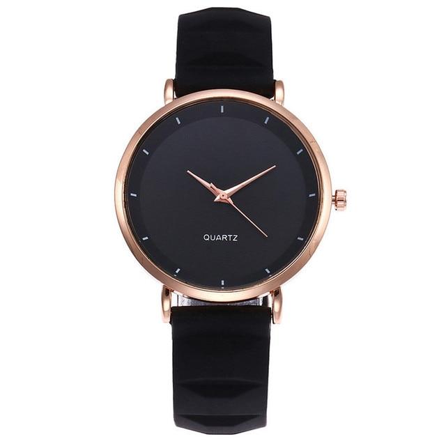 2019 Fashion Women Silicone Casual Watch Luxury Analog Quartz Starry Wristwatch