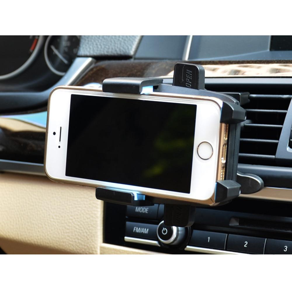Neue Auto Halterung Handys Handy Halter Stehen Air Vent Berg Fast Wiege Klammern