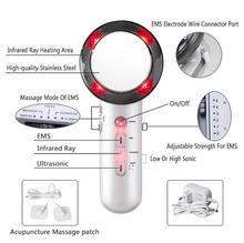 Kawitacja ultradźwiękowa EMS wyszczuplający masażer do ciała utrata masy ciała masażer Lipo antycellulitowy spalacz tłuszczu terapia ultradźwiękowa na podczerwień