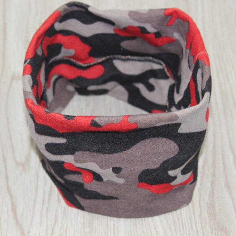 New design unisex red camouflage sports elastic headband elastic yoga hair band movement type headdress