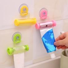 Соковыжималка для зубной пасты, диспенсер, держатель для рулонной трубки, гаджет для ванной комнаты, пластиковая многоцелевая кухонная поставка