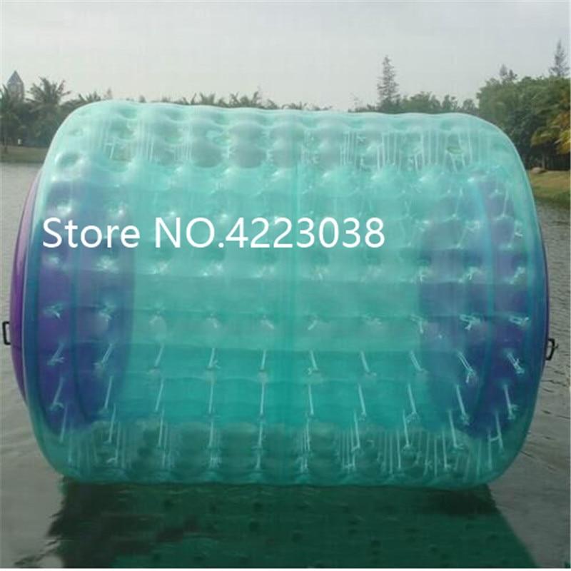 Livraison gratuite gonflable eau marche rouleau piscine flotte jouets marche sur l'eau roulement balle à vendre