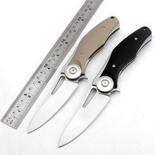 Sharp Tactical folding knife bearing flip pocket knives D2 blade camping survival knife G10 handle outdoor rescue hunting knife