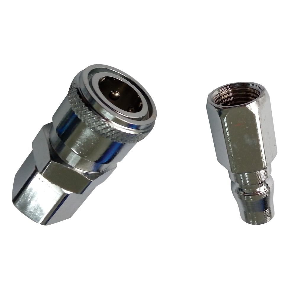 Air Compressor Pneumatic Quick Coupler Connector Socket Fittings Set 1/2 BSPT Female 3pcs lot new r410 r22 air refrigeration charging adapter refrigerant retention control valve air conditioning charging valve
