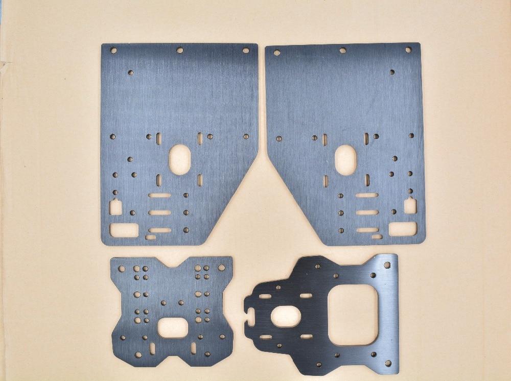 3d printer parts Opensource OX CNC plate aluminum plate