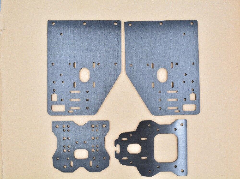 Pièces d'imprimante 3d Opensource plaque de CNC OX plaque d'aluminium