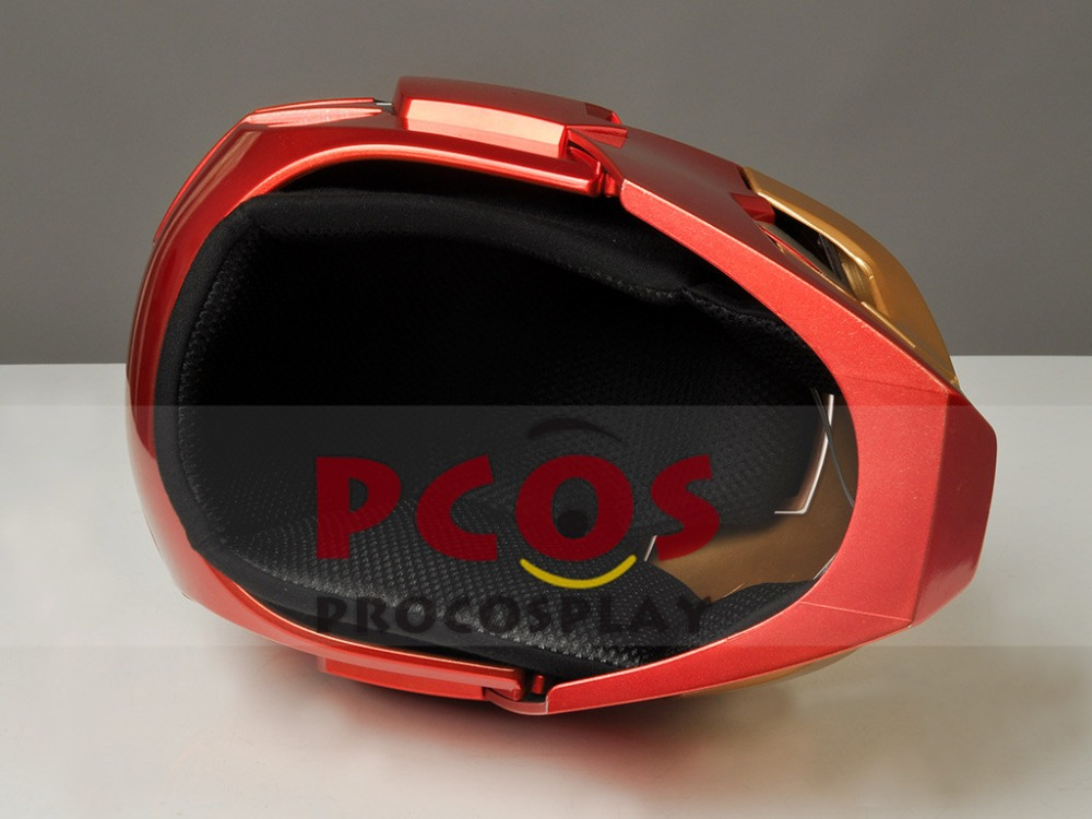 New Iron Man 3 Tony Stark MK42 Cosplay Helmet telecontrol ver mp003728 look the gif view in description in Costume Props from Novelty Special Use