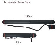 63-105cm Archery Arrow Tube Telescopic Holder Quiver Bag  Adjustable