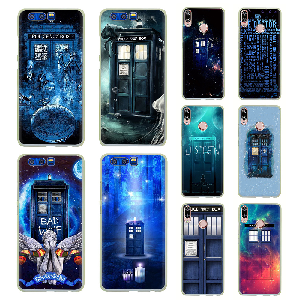Shock-Resistant And Antimagnetic Competent Tardis Box Doctor Who Hard Phone Case For Huawei Y5 Y6 Y7 Y9 Prime 2017 2018 Mate 10 20 Lite Pro Nova 2i 3 3i Lite Waterproof Cellphones & Telecommunications