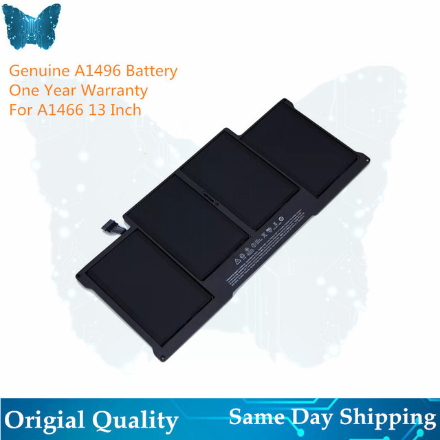 """GIAUSA A1496 Battery For Apple Macbook Air 13"""" inch A1466 battery 2013 Early 2014 2015 54.4Wh 7.6V"""