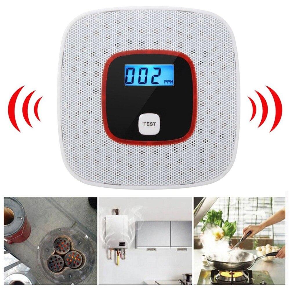 High Quality Home security CO Carbon Monoxide Detector Smoke Poisoning Gas Detector High Sensitivity alarma smart house