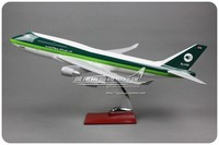 47cm Resin Iraqi Airlines Airplane Model Boeing 747 400 Diecast Aviation Model Iraqi B747 Airway Aircraft Scale Diecast Model