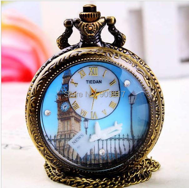 compare prices on mens western watches online shopping buy low fashion western tower design classical antique necklace pocket watch women and men pendant clock
