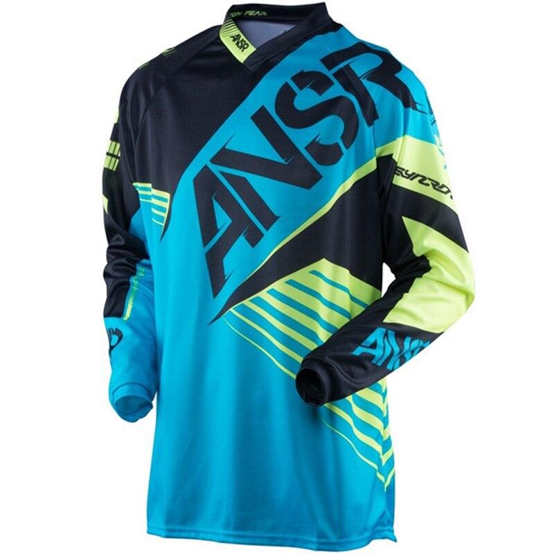 2018 ответ moto gp dh горная рубашка xxxl Велоспорт mx Мотокросс Одежда для мотокросса дышащая быстросохнущая одежда