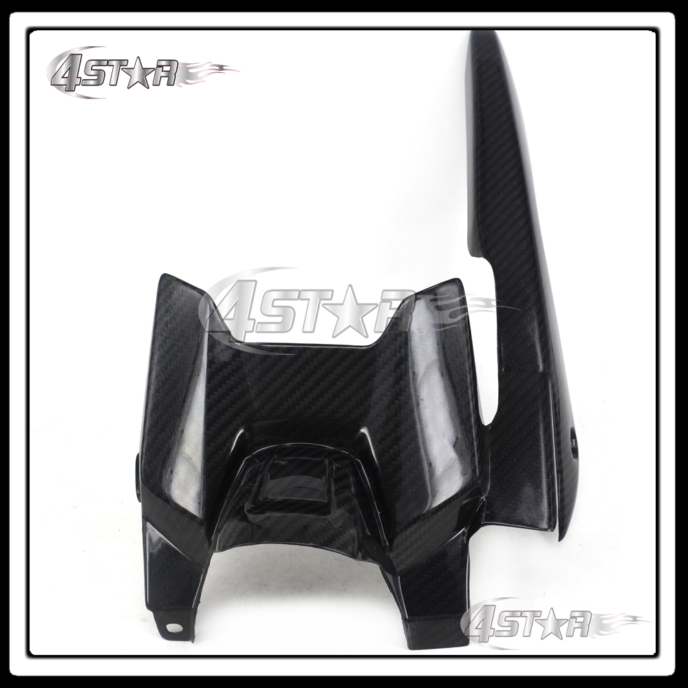 все цены на  Motorcycle Carbon Fiber Rear Tire Hugger Fender Mudguard Chain Guard Cover For MT-07 FZ-07 MT07 FZ07 MT FZ 07 2013 2014 2015  онлайн