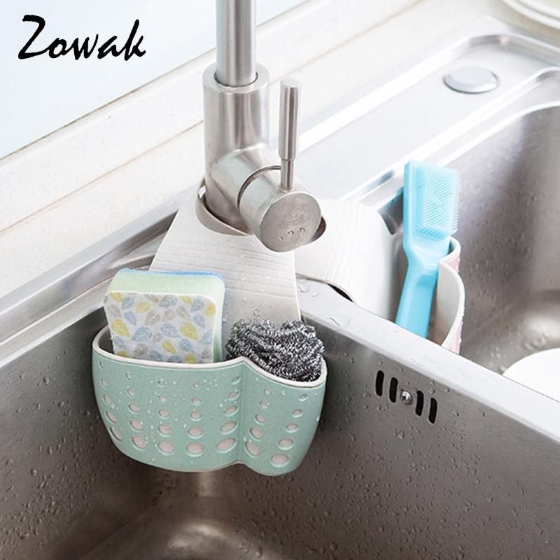 Sponge Holder Kitchen Sink Caddy Soap