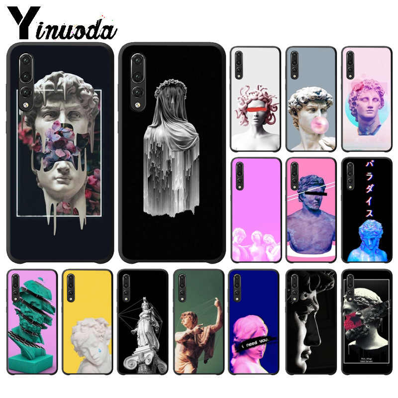 Yinuoda D'art Vintage David Statue illustration  Phone Case for Huawei P10 plus 20 pro P20 lite mate9 10 lite honor 10 view10