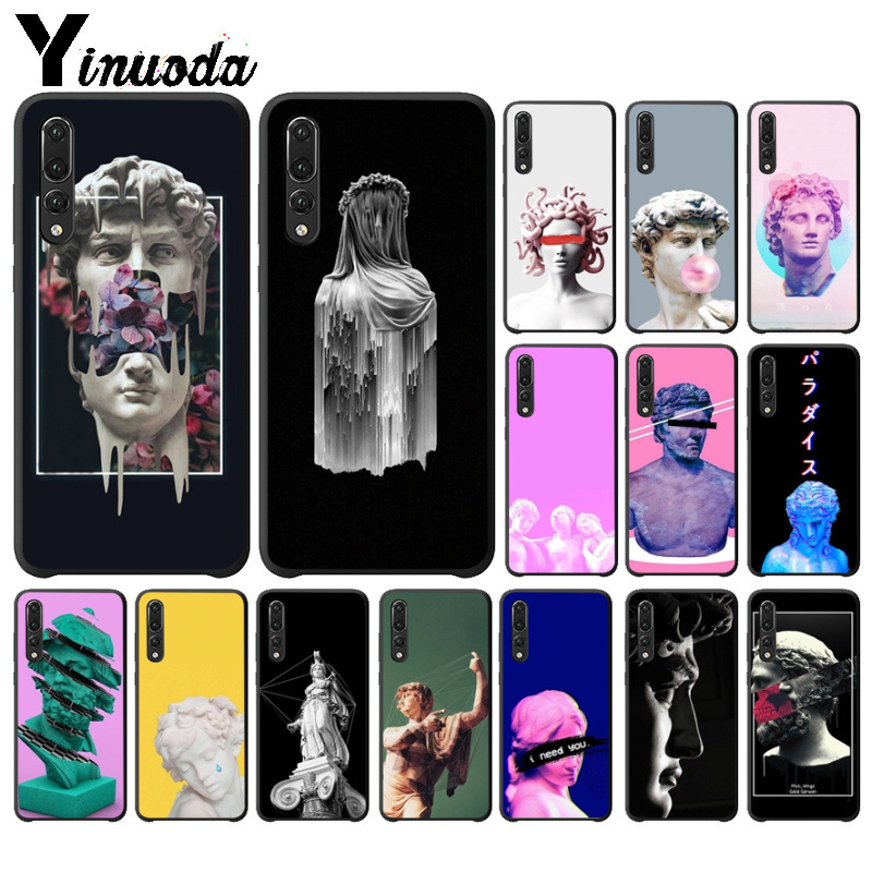 Yinuoda D'art Vintage David Statue illustration Phone Case for Huawei P10 plus 20 pro P20 lite mate9 10 lite honor 10 view10 image