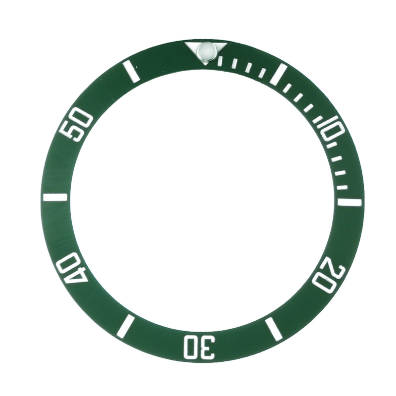 Watches Replace Accessories Watch Face Ceramic Bezel Insert For 40mm Submariner Automatic Mens Black/Blue/Green 38mm