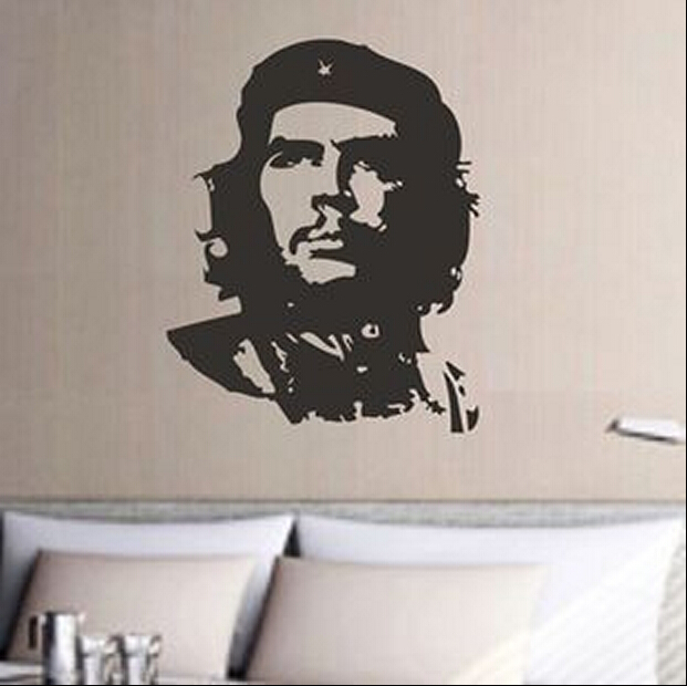 Che Guevara дизайнына арналған винил - Үйдің декоры - фото 2