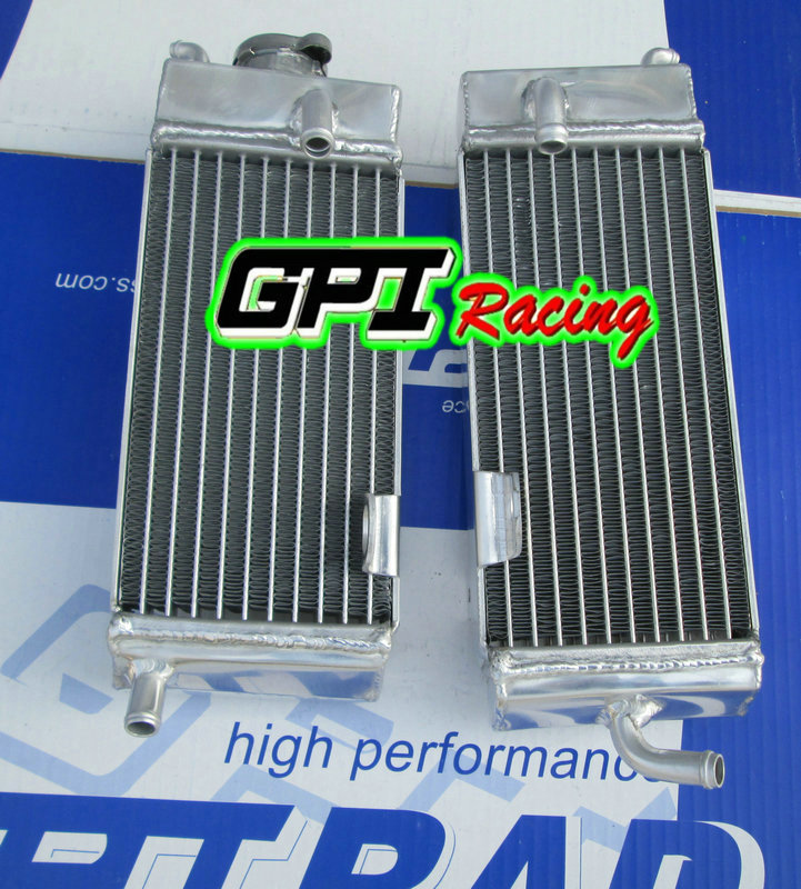 FOR Yamaha YZ250 YZ 250 1986-1989 1987 1988 aluminum radiator