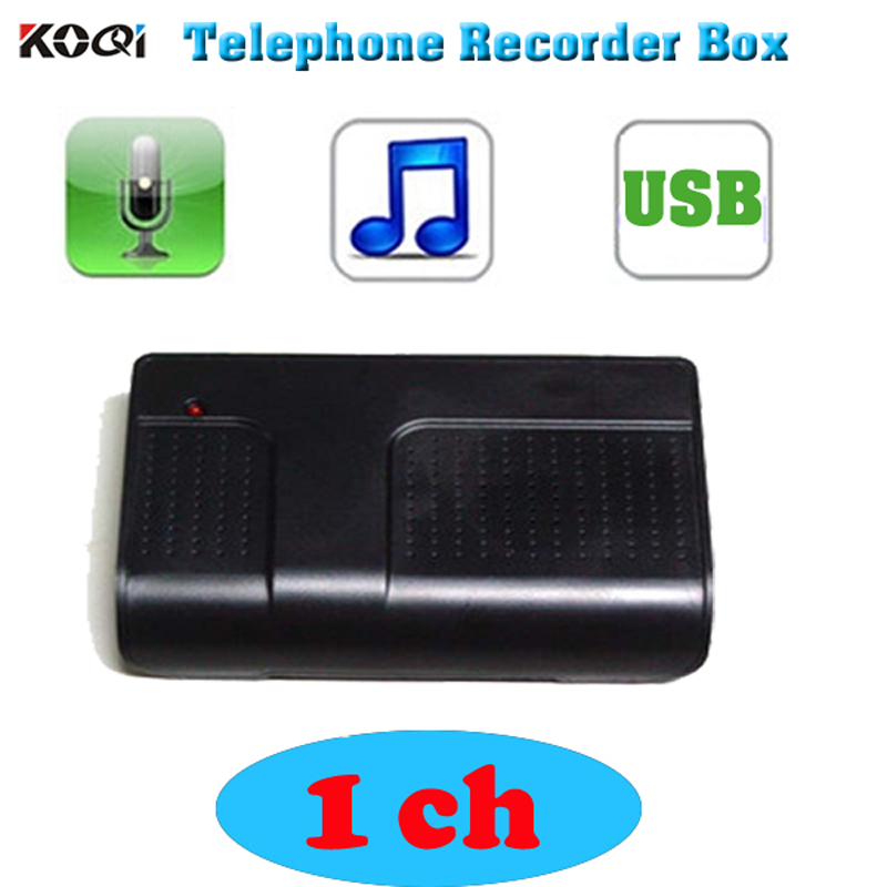 2017 Hot PC Computer 1 CH USB Telephone Phone Audio Voice Recorder