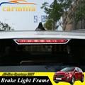 Car Exterior Rear Brake Light High Position Frame Sticker Chrome Trim 1 Piece for Kia All-New Sportage New Sportage QL KX5 2017