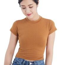 2019 Summer T-shirt Women Casual Lady Top Tees Cotton Tshirt