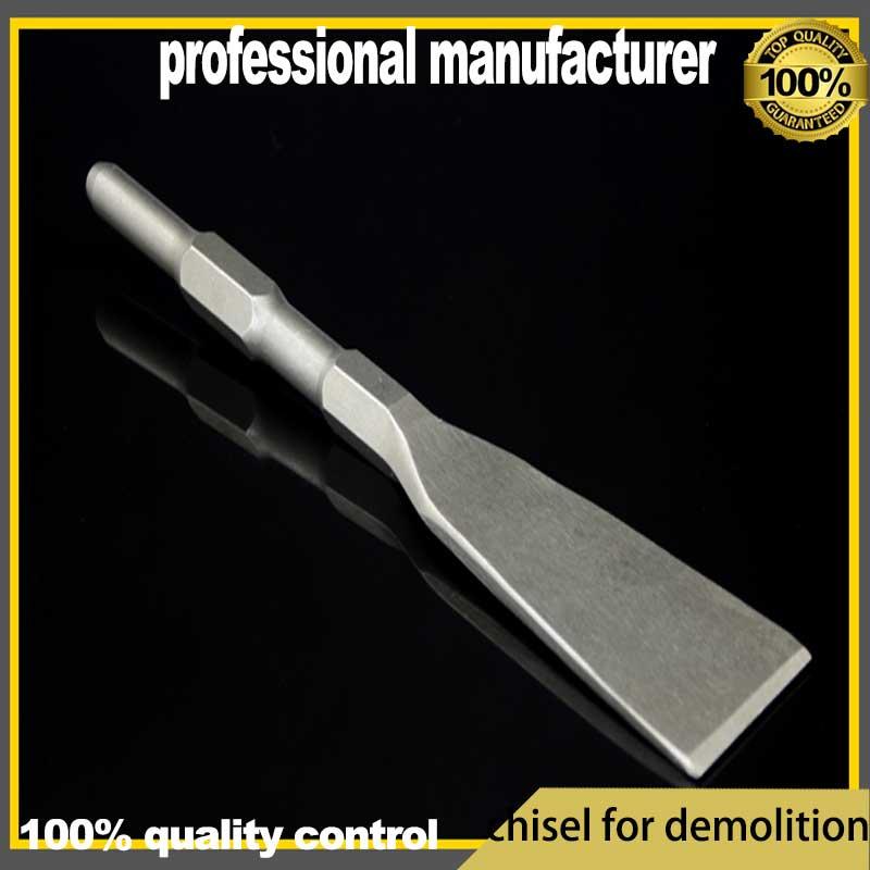 demolition chisel hex shape chisel for demolition tools for breaker tool cement chisel plaster chisel tool demolition