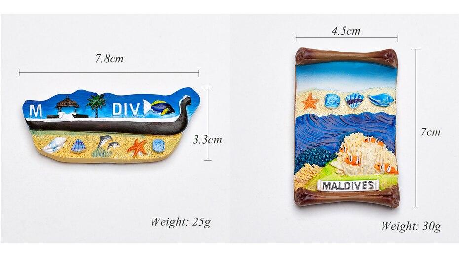 Seascape Ocean Fridge Magnet Souvenir 08
