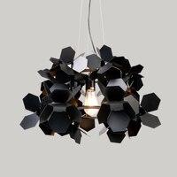 Постмодерн простой гладить обеденный подвесные светильники спальня исследование модель комнаты дизайнер лампа Nordic подвесные светильники