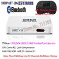 IPTV UNBLOCK UBOX3 Gen.3 S900 ProBT Bluetooth Version / 8GB Smart Android TV Box >1000 Free TV Live Channels for Ethnic Chinese