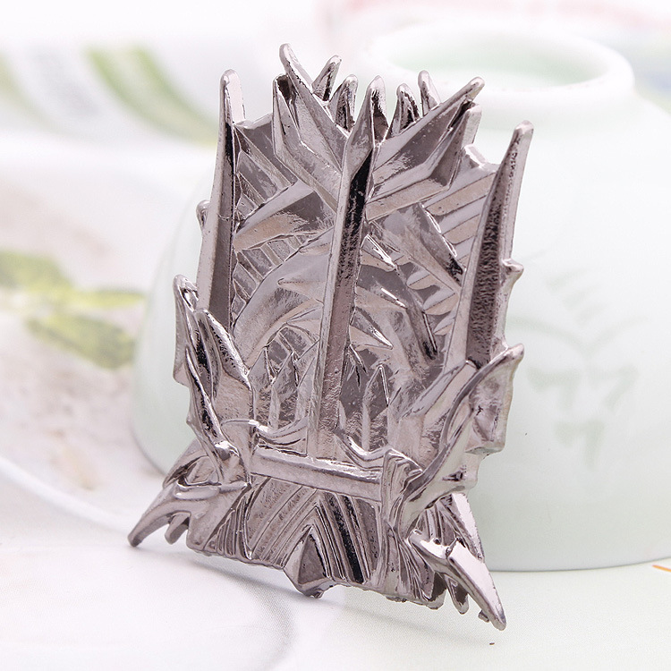 2014 New Arrival Hot Sell A Song of Ice and Fire Game of Thrones Iron Throne Pin brooches jewelry