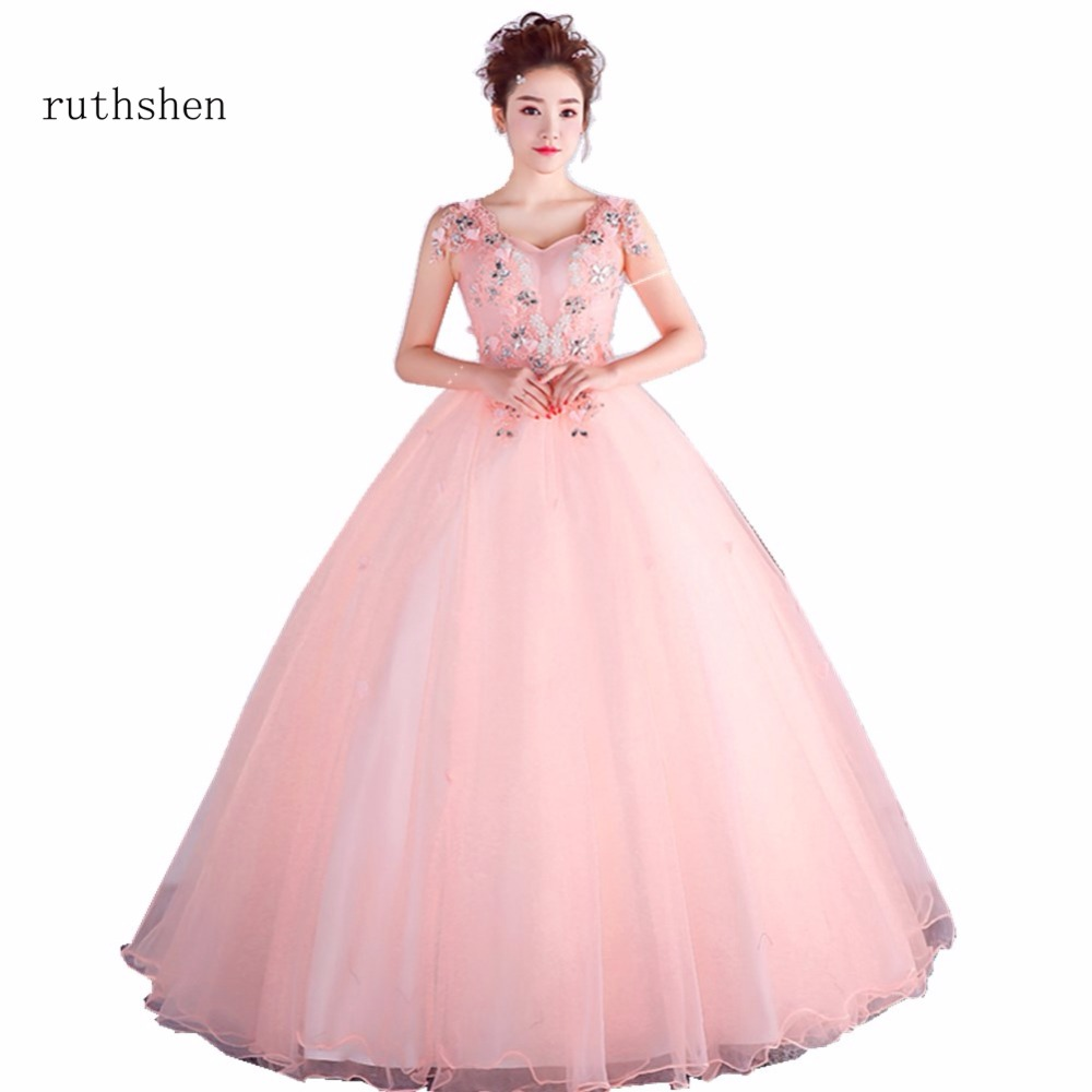 Fairy New Arrivals Charming Quinceanera Dresses Pink Ball Gown With Beaded Flowers Sweet 15 Masquerade Ball Gowns Sleeveless