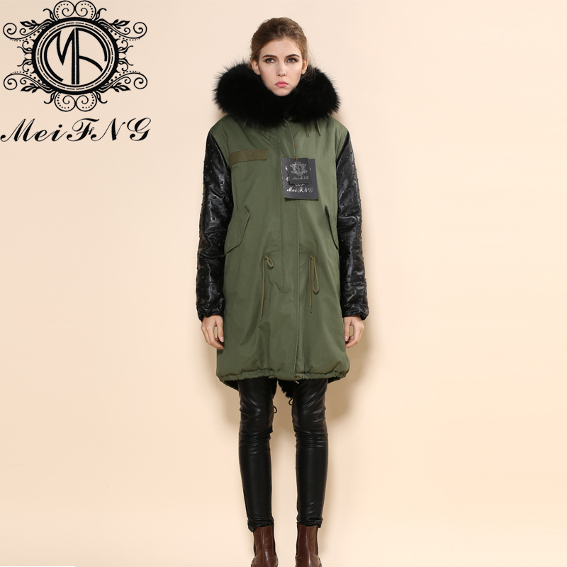 Compare Prices on Green Parka Leather Sleeves- Online Shopping/Buy ...