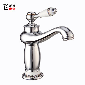 All copper chrome plated faucet