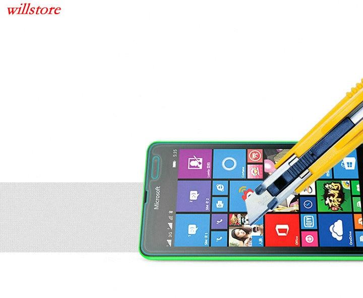 Härdat glasskärmskydd BAG för Nokia Lumia 435 520 530 532 535 540 - Reservdelar och tillbehör för mobiltelefoner - Foto 4