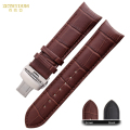 Genuine leather watch strap mens watchband bracelet  22 23 24mm watch band for T035 627A 439 accessories Butterfly buckle