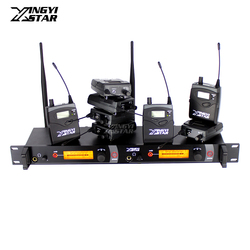 SR 2050 Wireless In Ear Monitor Professional Stage Monitoring System 8 Bodypack Receiver With Transmitter Monitors in Earphone