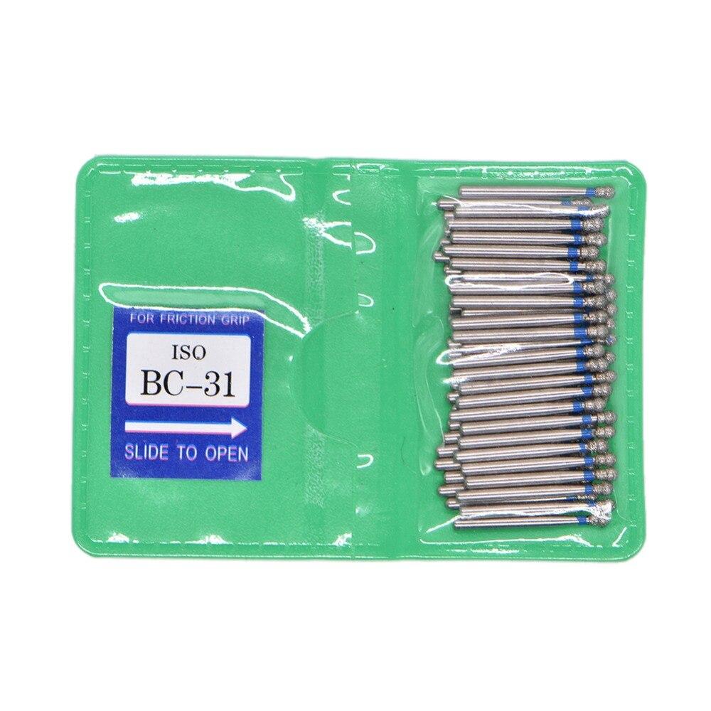 50pcs/bag Dental Diamond FG High Speed Burs For Polishing Smoothing BC BR FO SF SERIES Dental Burs 1.6mm Dental Tools Dentistry