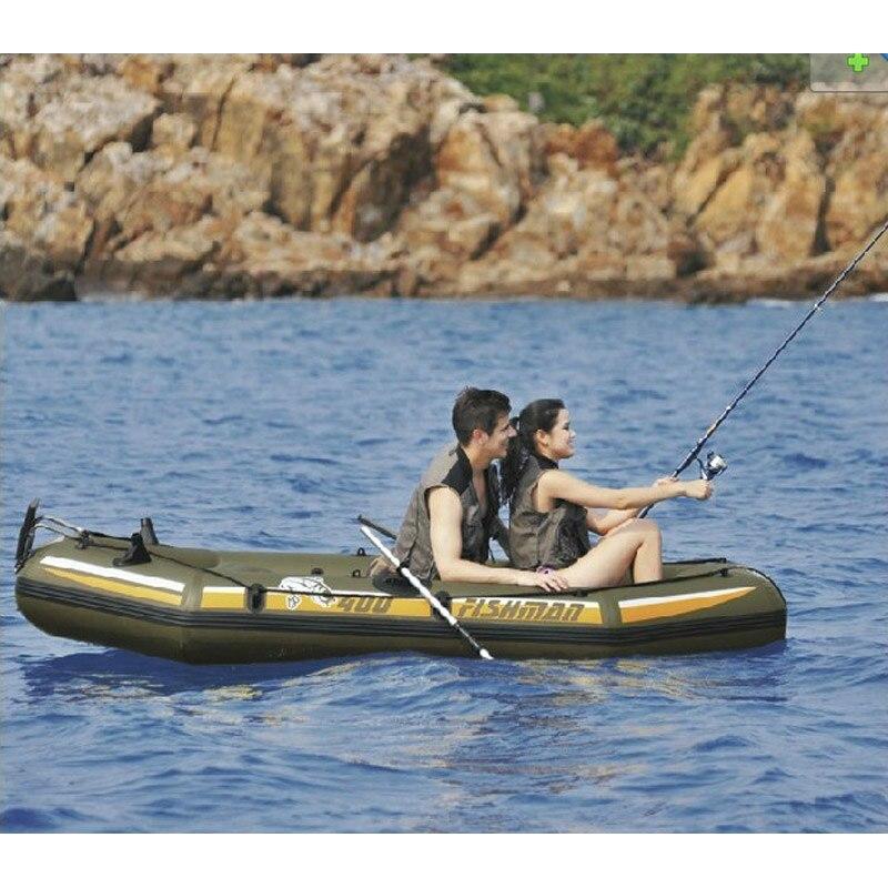 Фишман супер раздувные 4 глазам, лодка рыбацкая лодка 328*144*46см 137 см алюминиевые весла ручной насос сумка ремкомплект A07002