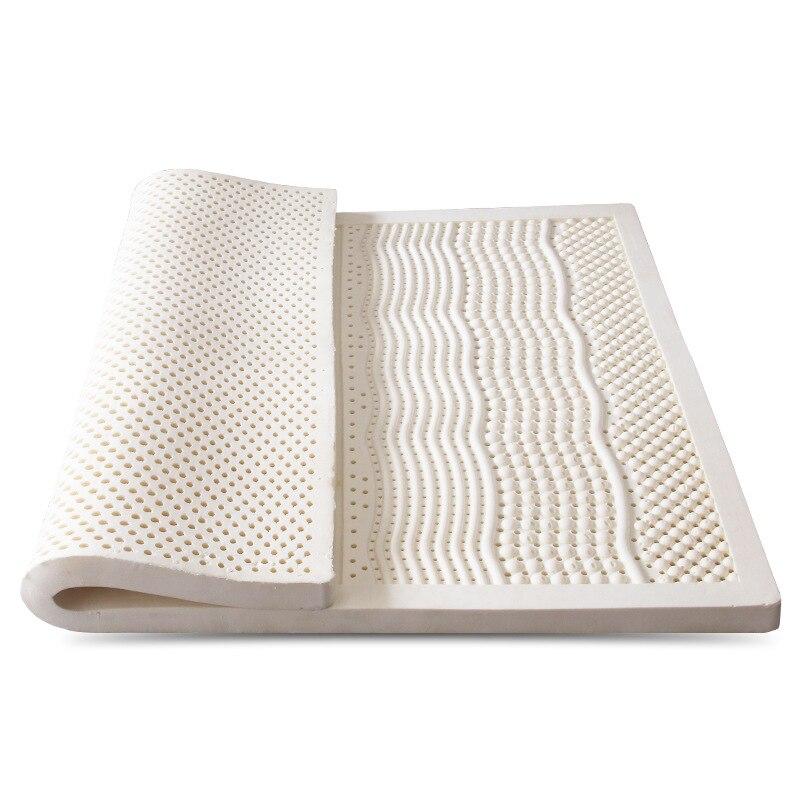 Matratzen Willensstark Komfortable Körper Massage Gesunde Latex Matratze 100% Natürliche Latex Atmungs Sofa Bett Schlafen Matratze Mit Innen Außen Abdeckung Top Wassermelonen Schlafzimmer Möbel
