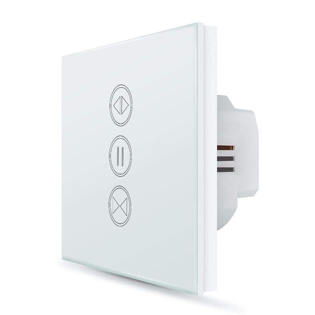 EU WiFI Smart Curtain Switch Google Home Alexa echo Voice Control Electric  Blind Roller Shutter Motor Tuya Life App Timer