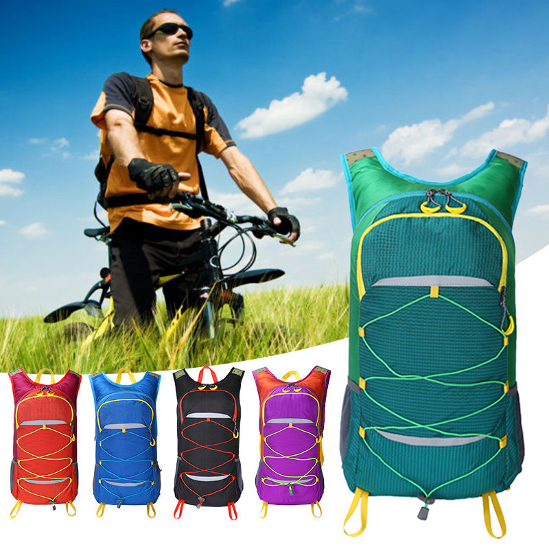 Cycling Backpacks Gym Bag Men Women Sports Bag Backpack Bicycle Cycling Hiking Backpack Waterproof Nylon Riding Rusksacks 25L ...