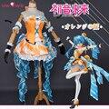 Hatsune Miku Cosplay VOCALOID Anime Polyester Uwowo Costume