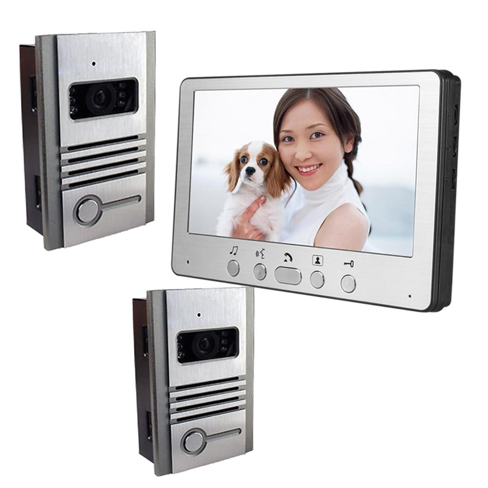 все цены на 2In1 7 Inch LCD Display  Wired Intercom Video Door Phone онлайн